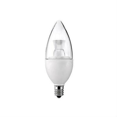 简单地节约5瓦透明烛台LED