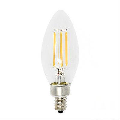 简单地保存4瓦老式灯丝烛台LED